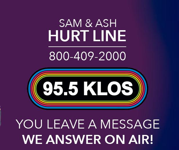 KLOS promo Sam and Ash Hurt Line