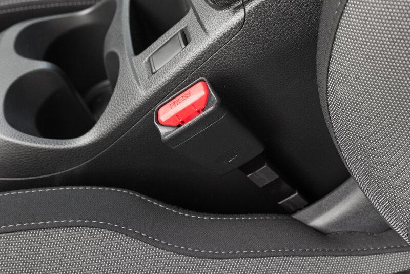 driver seatbelt off on a vehicle
